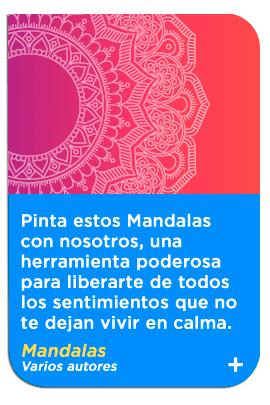 Mandalas Keep Reading en casa